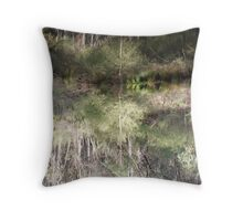 Waterworld Flying Fox Throw Pillow