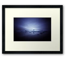 At Lands End IV Framed Print