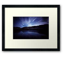 At Lands End VI Framed Print