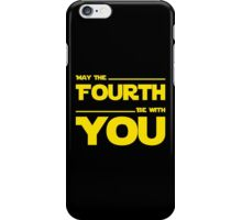 May The Fourth Be With You - Dark Geek T-Shirt iPhone Case/Skin