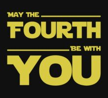 May The Fourth Be With You - Dark Geek T-Shirt by ramiro