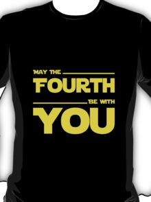 May The Fourth Be With You - Dark Geek T-Shirt T-Shirt