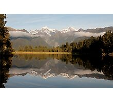 Lake Matheson, NZ Photographic Print