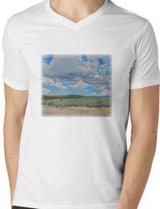 Desert Sky Mens V-Neck T-Shirt