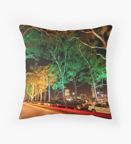 Melodies of Lights Throw Pillow