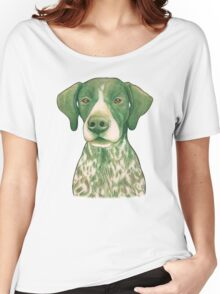 Jola #02 - German Short-Haired Pointer Women's Relaxed Fit T-Shirt