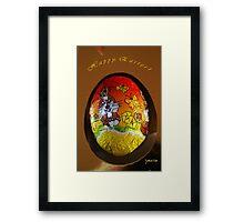 Happy Easter ! Framed Print