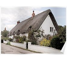 Thatched Cottage, Avebury (2) Poster