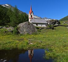 Chapel of the Holy Spirit, Casere-Predoi by Yair Karelic