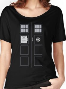 I am the Police Box Women's Relaxed Fit T-Shirt