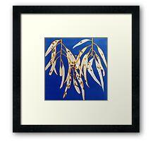Mornington Skies 5 - Monoprint Framed Print