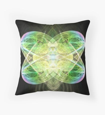 The Cradle Of Life Throw Pillow