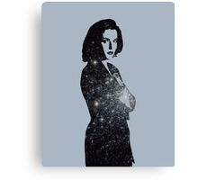 X Files Agent Scully Canvas Print