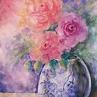 The Bouquet In The Vase by AngelArtiste