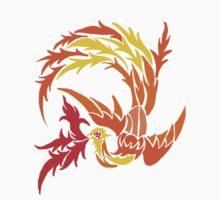 Phoenix on fire Kids Tee