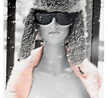 Whiteout  Photographic Print