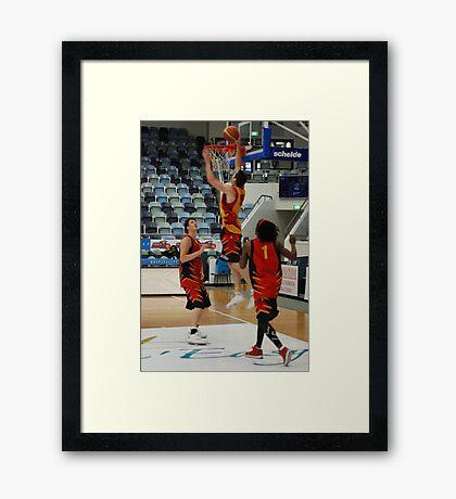 Slam Dunk 2 Framed Print
