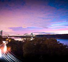 George Washington bridge by Zohar Lindenbaum