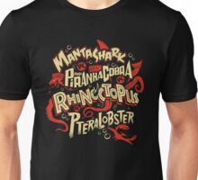SyFy Monster Movie Mash Halloween Unisex T-Shirt