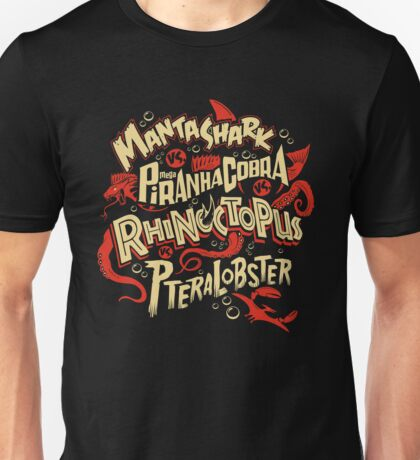 SyFy Monster Movie Mash Halloween Unisex T-Shirt