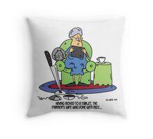 The farmer's wife Throw Pillow
