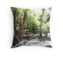 Paradise Decay Throw Pillow