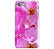 Pink leafs iPhone Case/Skin