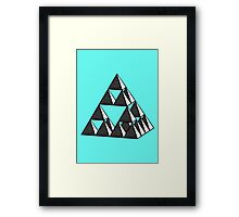 An exercise in Structure Framed Print