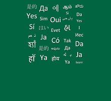 Multilingual Yes Unisex T-Shirt