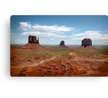 Monument Valley Utah Canvas Print