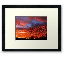 Light Of God Framed Print