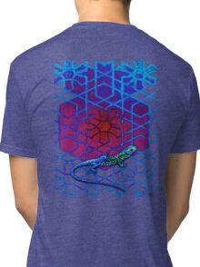 Lizard Geome Tri-blend T-Shirt