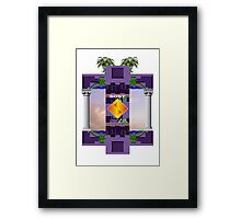 Marble Zone Framed Print