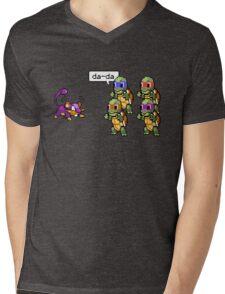 Da-Da Mens V-Neck T-Shirt