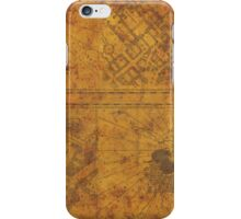 Distressed Maps: Marauders Map Inside iPhone Case/Skin
