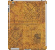 Distressed Maps: Marauders Map Inside iPad Case/Skin