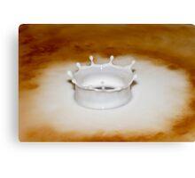 Vanilla Crown Canvas Print