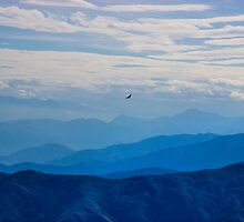 Soaring Over The Misty Andes by Al Bourassa