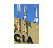 CIA Art Print