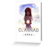 Clannad Greeting Card