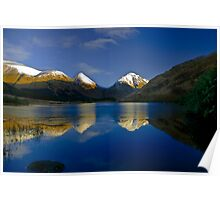 Glen Etive reflections Poster
