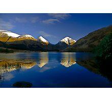 Glen Etive reflections Photographic Print