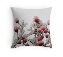iceberry Throw Pillow