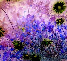 my garden 3 by Colleen Milburn