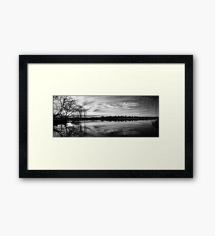 Mannum Nights Framed Print