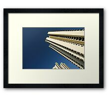 Residential Apartments Framed Print