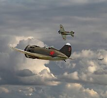 Polikarpov I16 - Russian Front 1941 by Pat Speirs