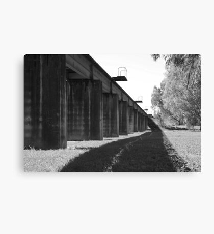 Stock Bridge Canvas Print