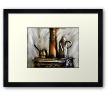The Stove and Kettle Framed Print