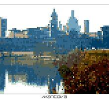 Pixel Art Cities: Mantova by Elena Kartseva